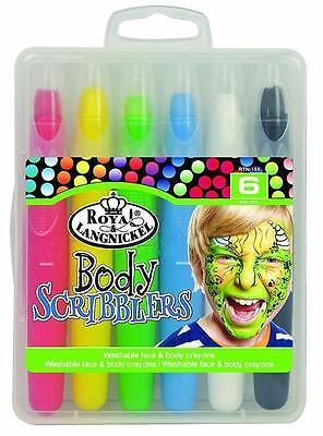 Краска для лица - Body Scribblers Face Paint - Primary Colours