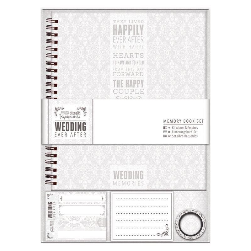 Альбом для свадьбы Memory Book - Wedding - Grey/White