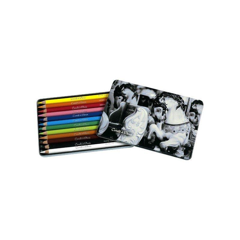 Пастельные карандаши в наборе Conte 12 штук