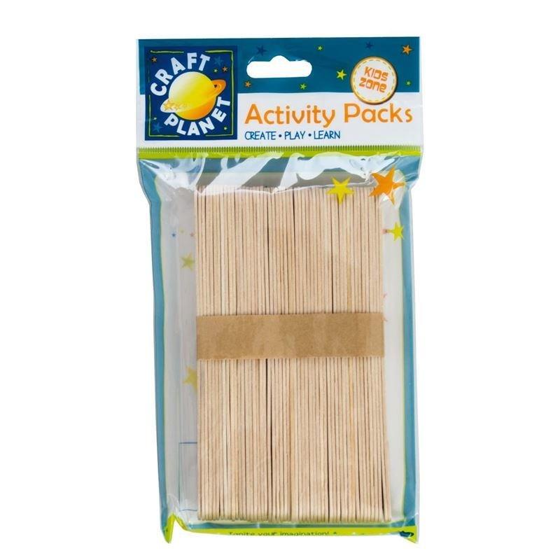 Палочки деревянные Docrafts 50шт