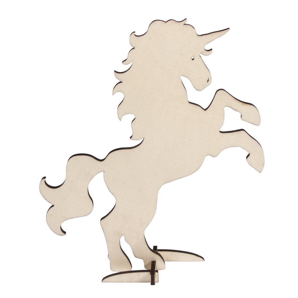 Деревянная форма Rayher Unicorn 19*24см