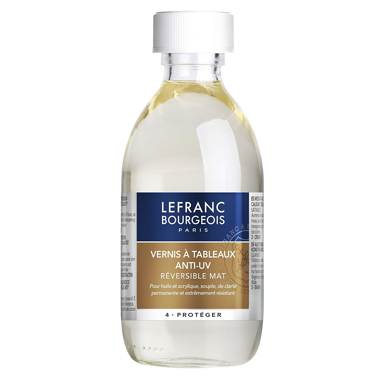Лак Lefranc & Bourgeois Anti - UV матовый 250мл
