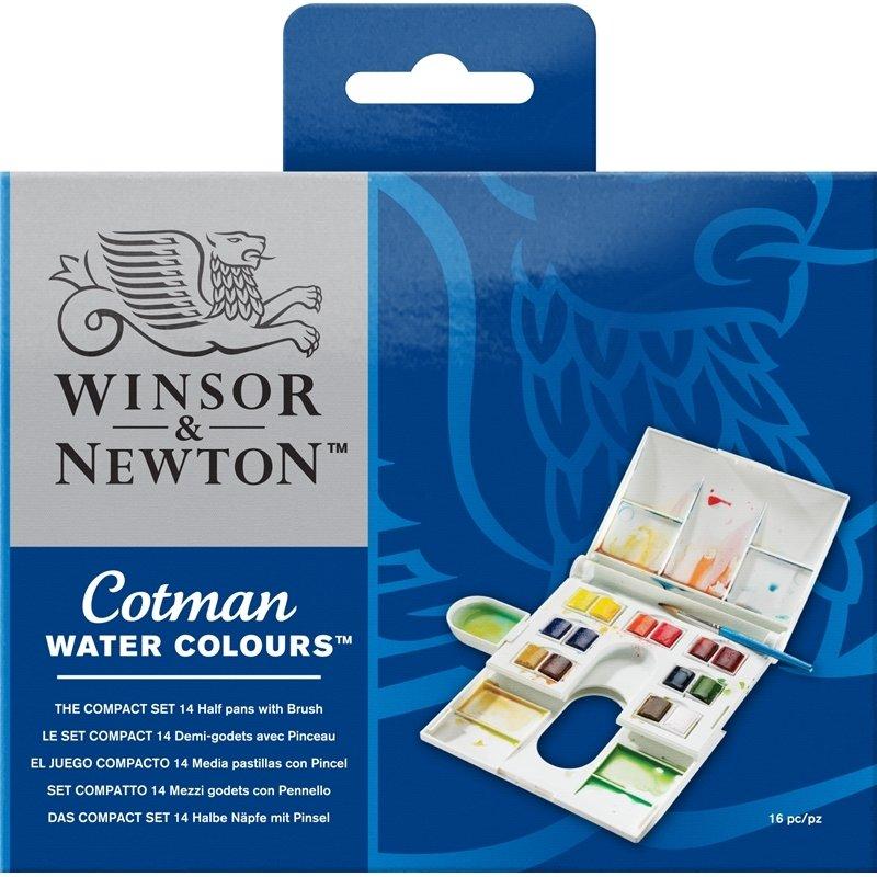 Акварель Winsor&Newton 14цвета