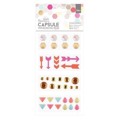 Декор Embellishments (39шт) - Capsule - Geometric
