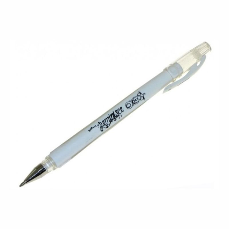 Ручка для бумаги Белая гелевая 1мм