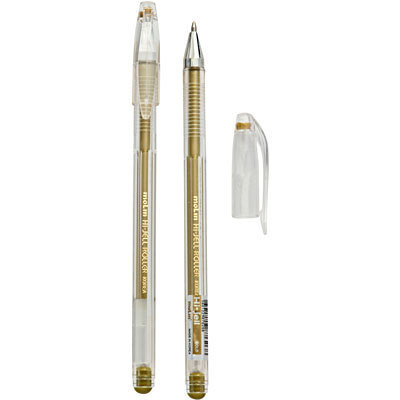 Ручка гелевая ARTISTE Металлик 0,7 мм, золото