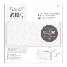 Открытка+конверт 15 x 15 docrafts 25шт - - Wedding - Damask