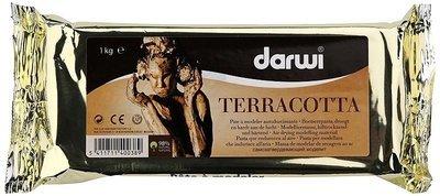 Pasta de modelat cu uscare la aer - Darwi Terracotta 1kg