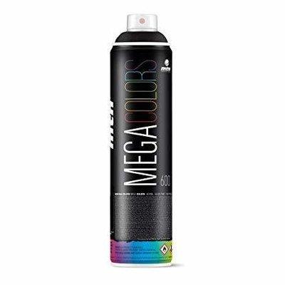 Краска аэрозольная MTN MEGA Colors 800ml черный
