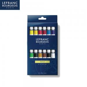 Масляные краски Lefranc Louvre (Лувр) 12цв