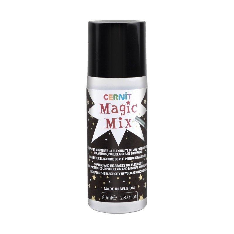 Размягчитель для полимерной глины Cernit Magic Mix, 80мл