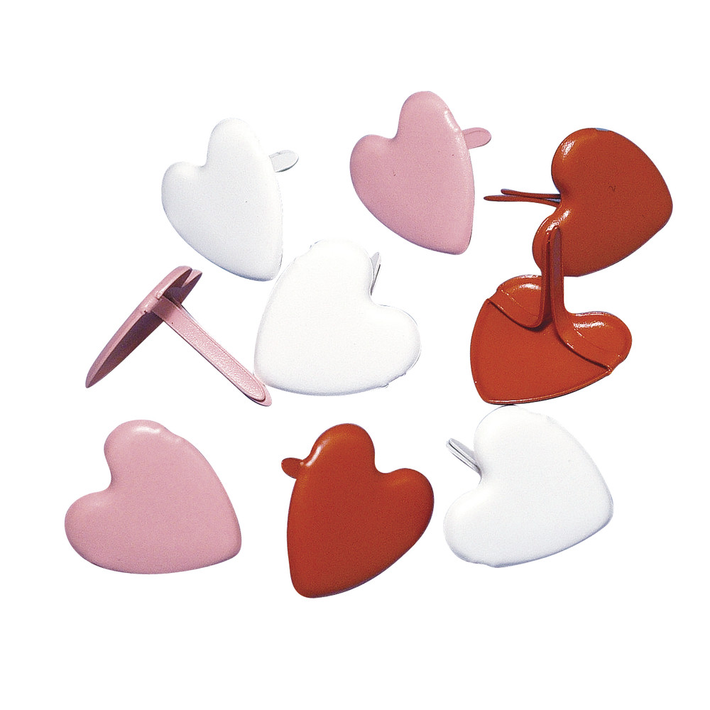 Брадсы Heart, 50шт