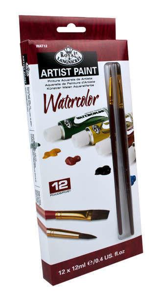 Набор акварельных красок Royal 12шт*12мл