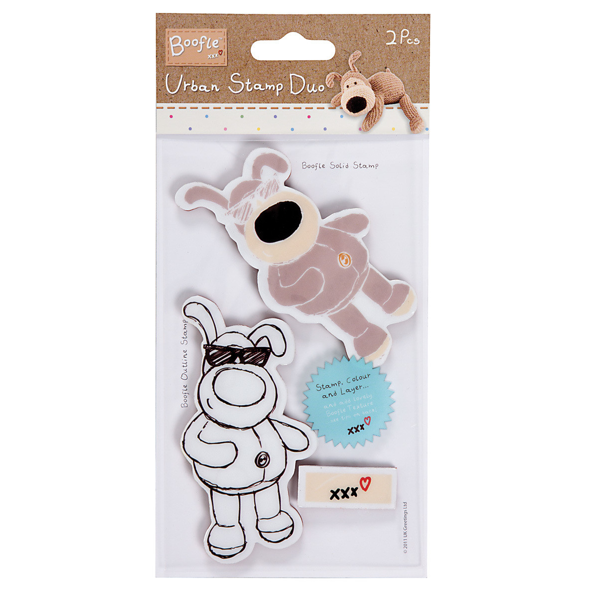 Штамп DOCRAFTS Urban Stamp - Boofle, Mr. Cool