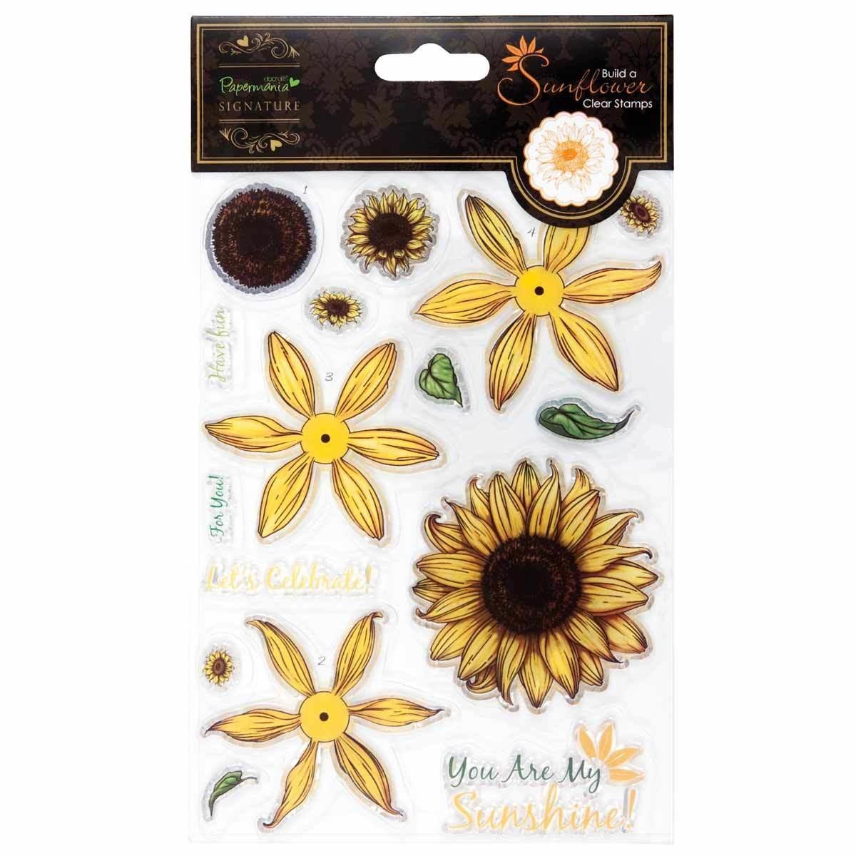 Штамп DOCARFTS Papermania Sunflower Clear Stamp