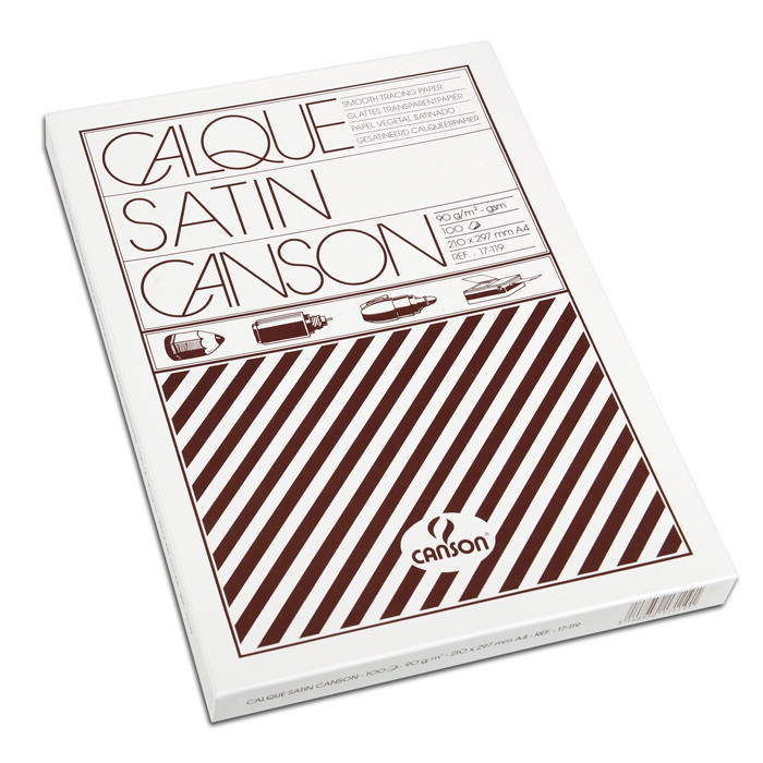 Калька Canson A4(100л), 90г