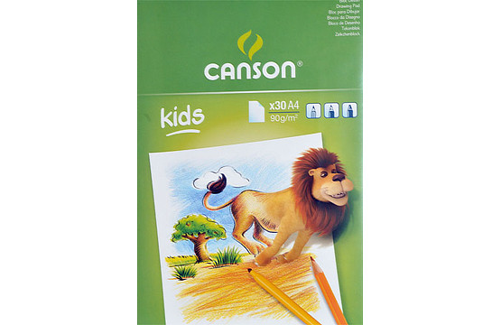 Детский альбом Canson Kids (а4, 90г/м2, 30 листов)