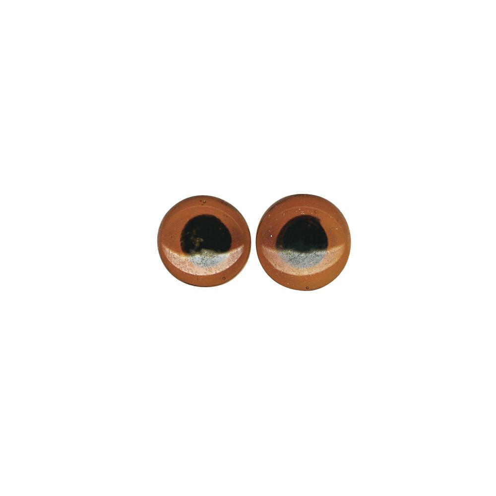 Глазки стеклянные, 12мм