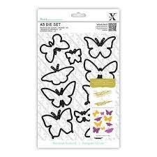 Набор ножей A5 Die Set (10шт) - Butterflies