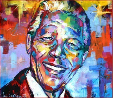Paint by Numbers Kit Madiba 40 x 50cm