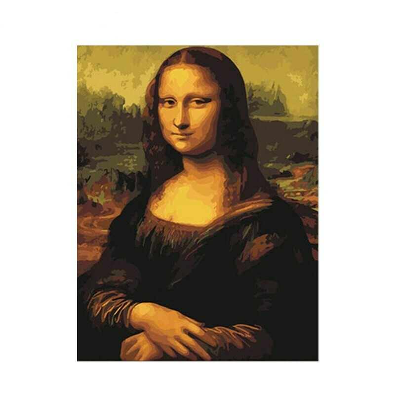 Paint by Numbers Kit Mona Lisa 40 x 50cm