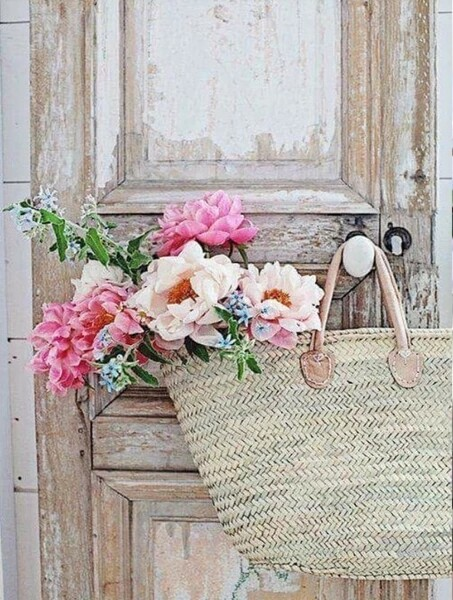 Paint by Diamond Kit Flower Basket 40 x 50cm