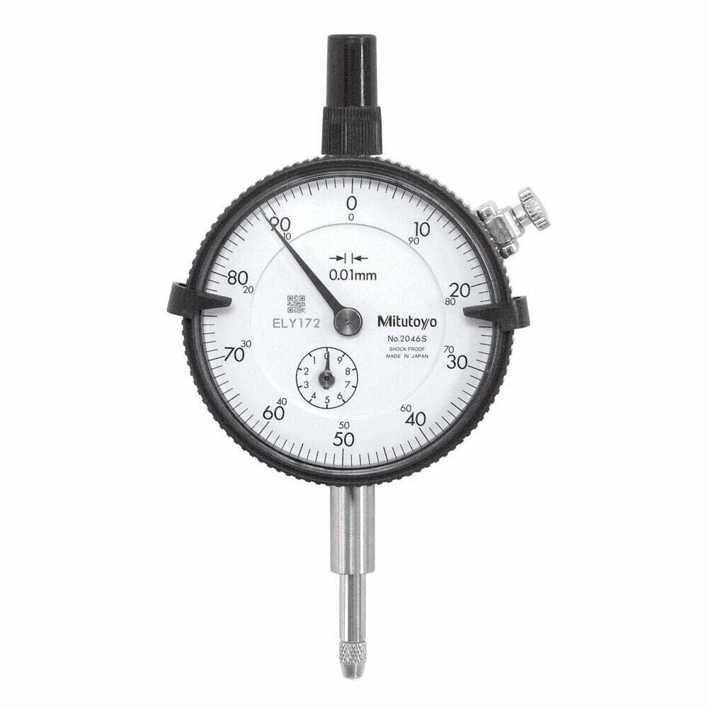 Mitutoyo 2046S Dial Indicator 10mm x 0.01mm