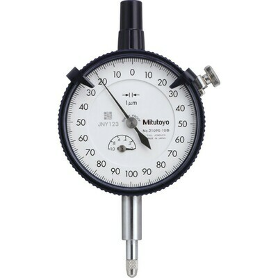 Mitutoyo 2109S-10 Dial Indicator 1mm x 0.001mm