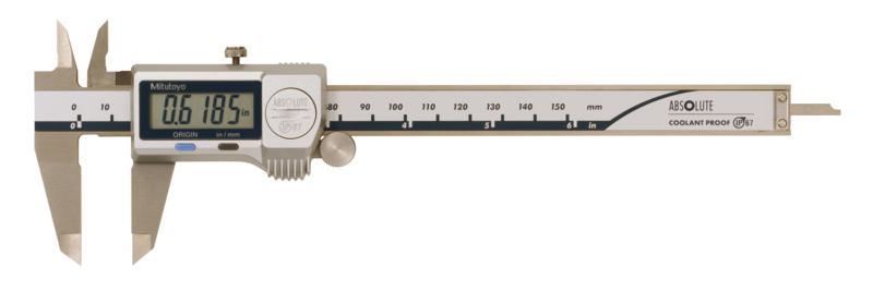 Mitutoyo 500-752-20 IP67 Digimatic Caliper 150mm x 0.01mm (Inch/Metric)