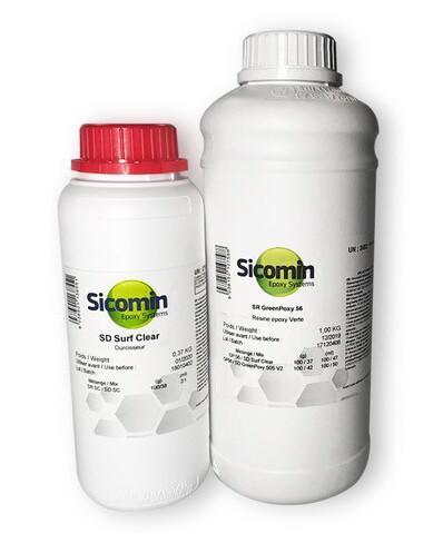 Sicomin SR Surf Clear EVO / SD EVO FAST