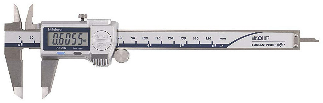 Mitutoyo 500-762-20 IP67 Digimatic Caliper 150mm x 0.01mm (Inch/Metric)