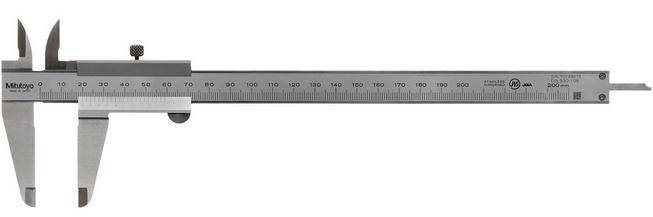 Mitutoyo 530-108 Vernier Caliper 200mm x 0.05mm
