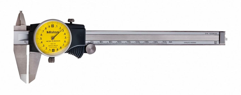 Mitutoyo 505-730 Dial Caliper 150mm x 0.02mm