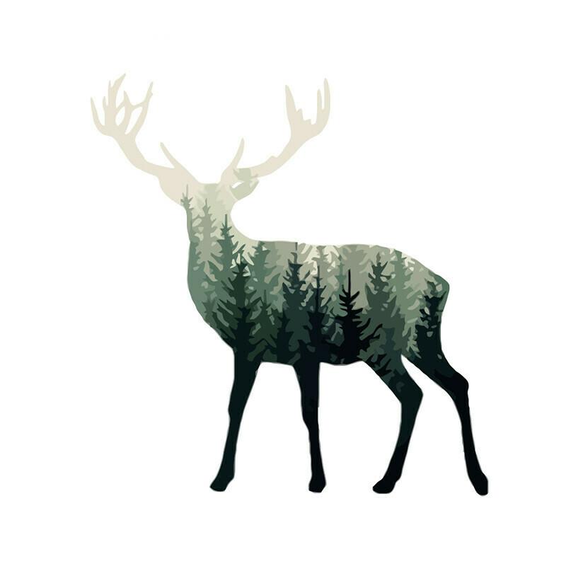 Paint by Numbers Reindeer 40 x 50cm