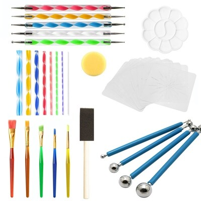 Mandala Dotting Tool set (35 pieces)