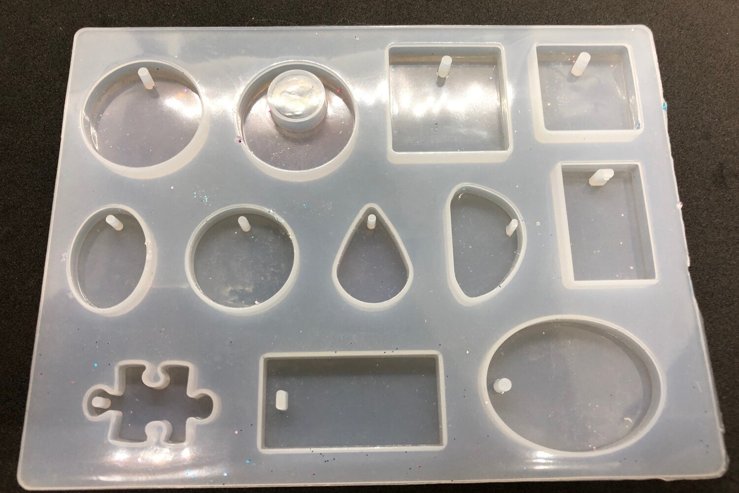 Silicone Mould - Tray with puzzle piece