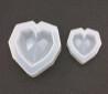 Silicone Mould - Big geometric heart