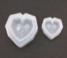 Silicone Mould - Small geometric heart