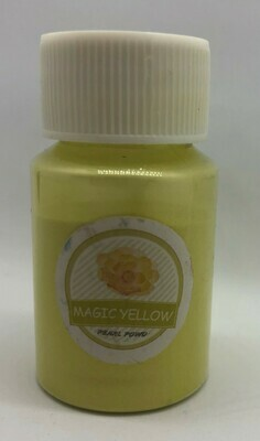 Magic Yellow pearl pigment for resin 10g