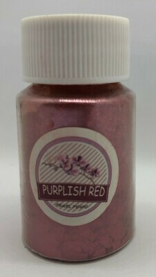 Purplish Red pearl pigment for resin 10g