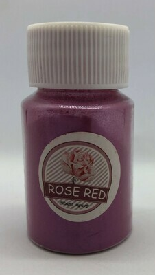 Rose Red pearl pigment for resin 10g
