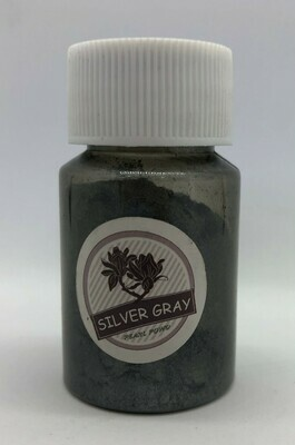 Silver Gray pearl pigment for resin 10g