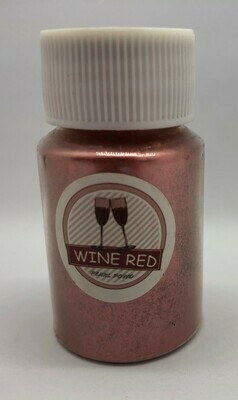 Wine Red pearl pigment for resin 10g