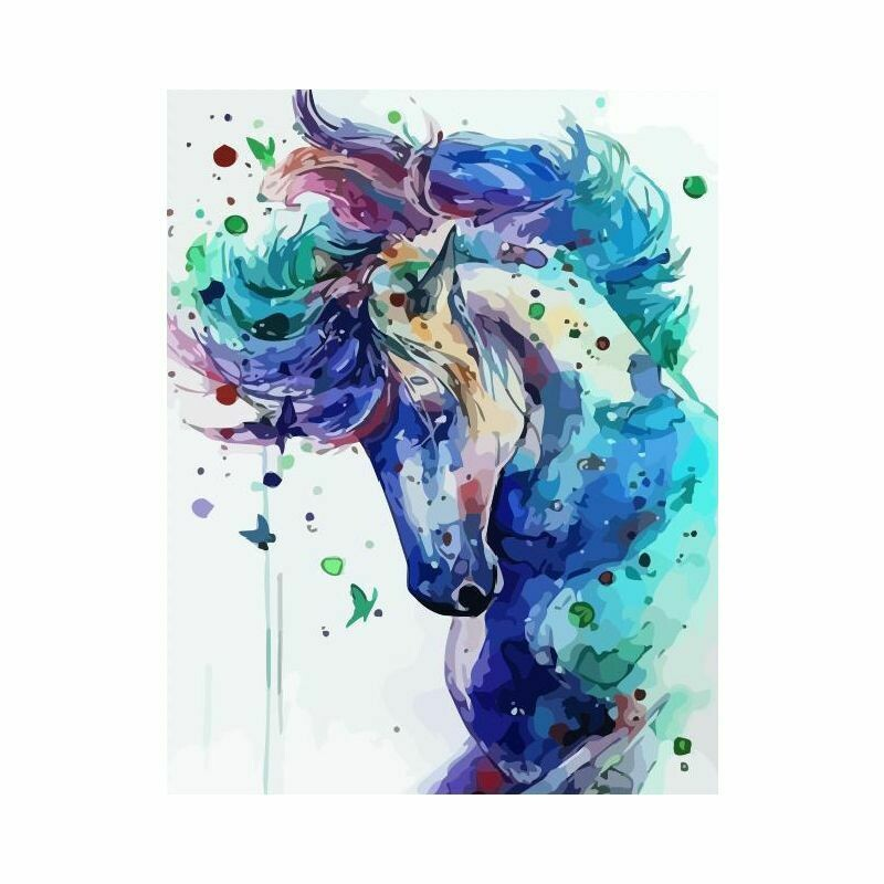 Paint by Number Kit Heavenly Horse 40 x 50cm
