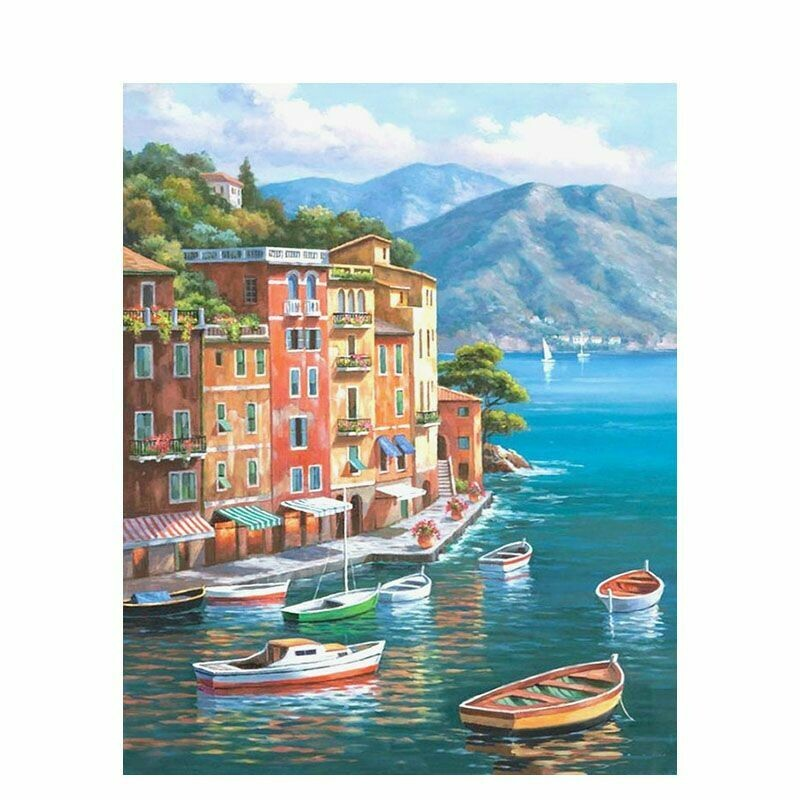 Paint by Number Kit Waters Edge 40 x 50cm