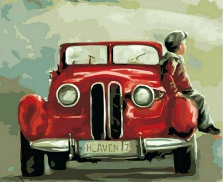 Paint by Number Kit Boy and His Car 40 x 50cm