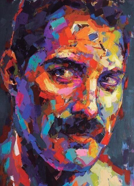 Paint by Number Kit Freddie 40 x 50cm