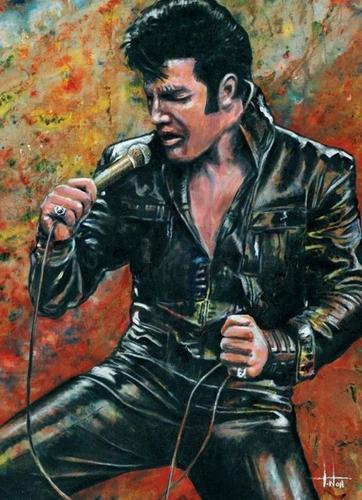 Paint by Number Kit Elvis 40 x 50cm