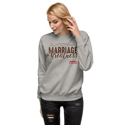 Marriage Greatness TCOM Unisex Fleece Pullover
