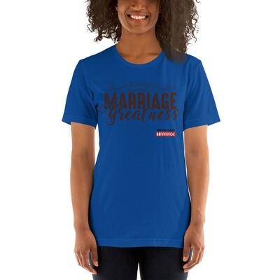 Marriage Greatness TCOM Short-Sleeve Unisex T-Shirt